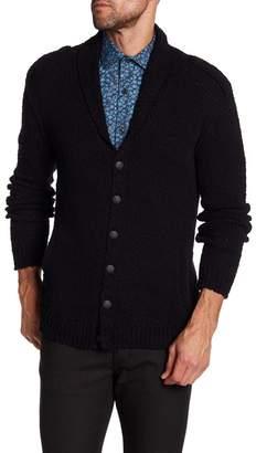 John Varvatos Collection Shawl Collar Cardigan