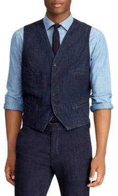 Polo Ralph Lauren Morgan Denim Vest