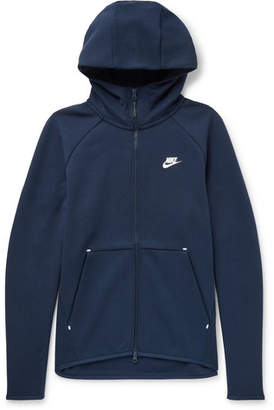 Nike Cotton-Blend Tech Fleece Zip-Up Hoodie