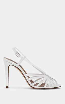 Tabitha Simmons Women's Jazz Spazzolato Leather Sandals - White