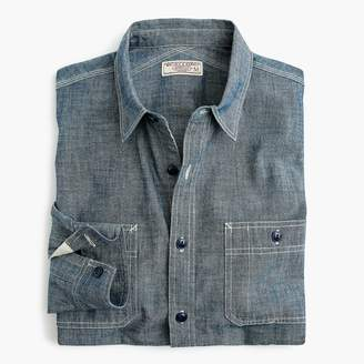 J.Crew Wallace & Barnes shirt in Japanese chambray