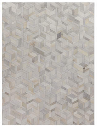 Exquisite Rugs Brielle Hairhide Hand-Stitched Rug, 5' x 8'
