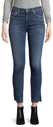 Citizens of Humanity Rocket Studded Ankle Jeans