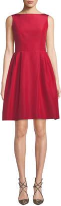 Carolina Herrera Sleeveless Bateau-Neck Cocktail Dress