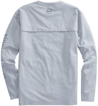 Vineyard Vines Long-Sleeve Performance Cationic Vented Boating T-Shirt