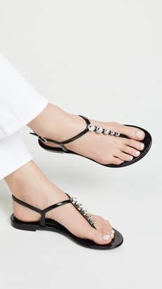 Sergio Rossi Khata Thong Sandals