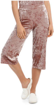 Only NEW Punti Velour Culotte Pant Pink
