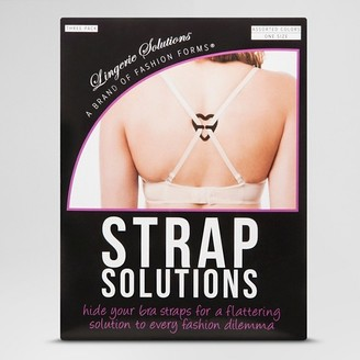 Fashion Forms Women's Strap Solutions - 3 Pack $6.99 thestylecure.com