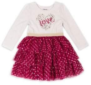 Little Lass Little Girl's Graphic Dress