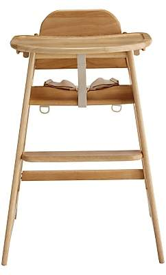 John Lewis & Partners Leckford Highchair, Natural