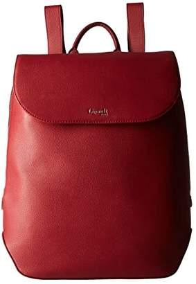 Lipault Paris Plume Elegance Leather Laptop Medium Backpack