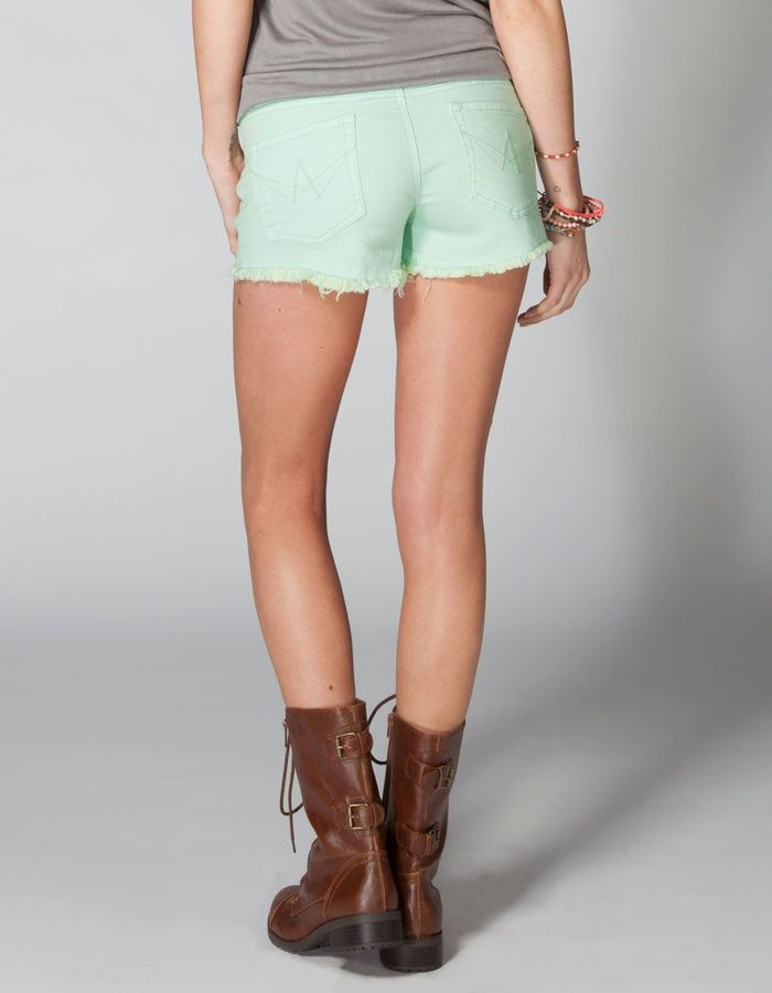 Lost Doll Womens Denim Cutoff Shorts