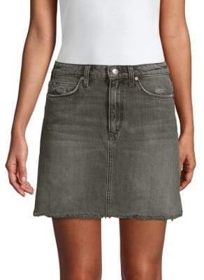 Joe's Jeans Wendi The Bell Denim Mini Skirt