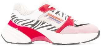 Pinko chunky low top trainers
