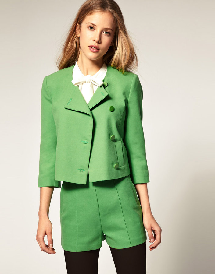 ASOS Crop Box Blazer