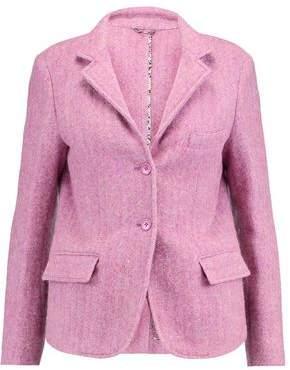 Etro Mélange Wool And Alpaca-Blend Blazer