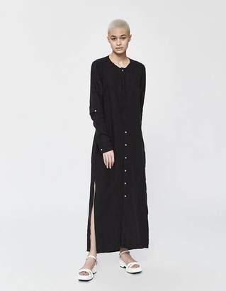 Bassike Linen Longerline Shirt Dress