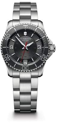 Victorinox Men's Maverick Automatic Small Bracelet Watch, 34mm