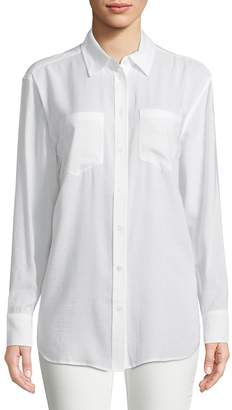 AG Adriano Goldschmied Women's Hartley Collared Shirt