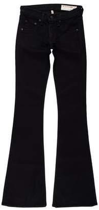 Rag & Bone Low-Rise Wide-Leg Pants