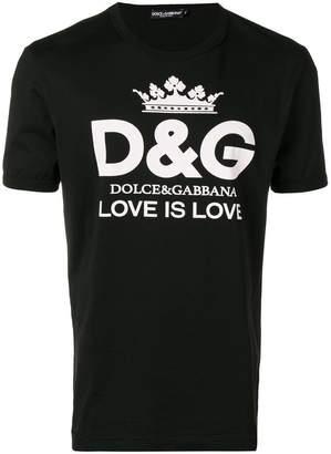 Dolce & Gabbana logo print T-shirt