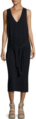 Rag & Bone Women's Michelle Tie-Front Cotton Sweater Dress