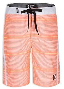 Hurley Boys' Shoreline Striped Board Shorts - Big Kid