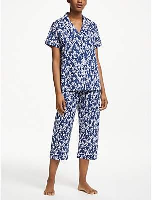 dd6cfd728e1 John Lewis   Partners Agnes Floral Print Cotton Pyjama Set