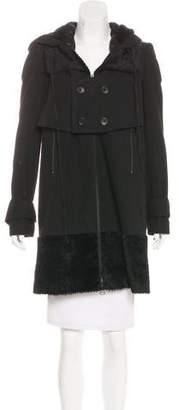 Robert Rodriguez Hooded Knee-Length Coat