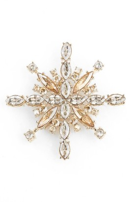 Women's St. John Collection Swarovski Crystal Pin $175 thestylecure.com