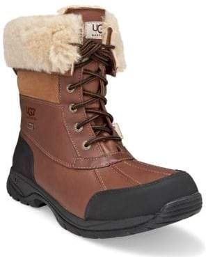 UGG Butte Sheepskin Leather Boots
