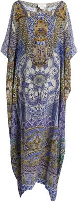 CAMILLA It Was All A Dream-print silk kaftan $517 thestylecure.com