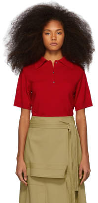 Ports 1961 Red Wool Polo