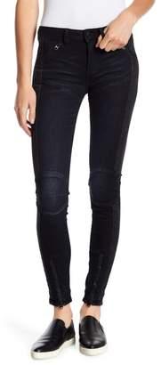 G Star 5620 Moto Zip Mid Skinny Jeans