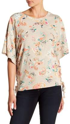 Democracy Dolman Lace Up Side Top