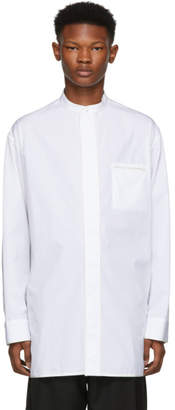 Haider Ackermann White Byron Shirt