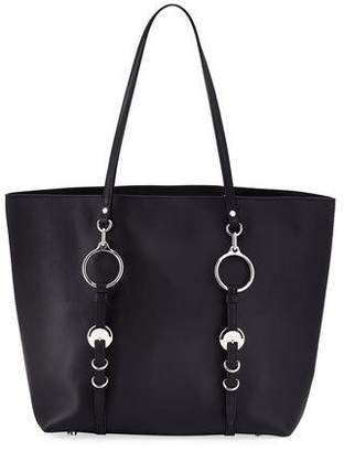 Alexander Wang Ace Napa Leather Smooth Extra Large Tote Bag, Black