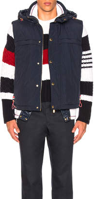 Thom Browne Enshuku Nylon Tech Vest