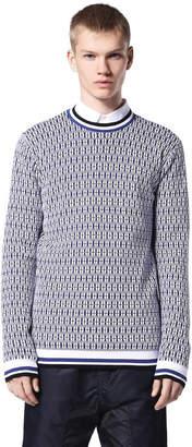 Diesel Black Gold Diesel Sweaters BGKIH - White - L