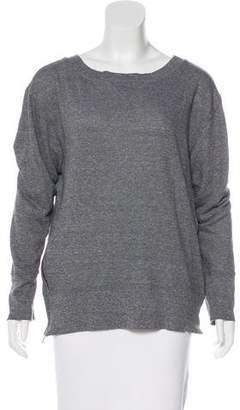 Current/Elliott Oversize Zip-Accented Sweatshirt