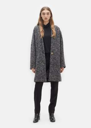 Etoile Isabel Marant Osbert Round Shoulder Coat Midnight