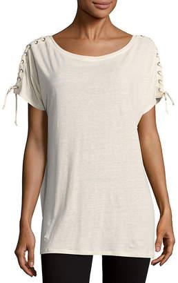 NYDJ Greenwich Lace-Up -Shirt