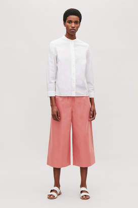 Cos CROPPED WIDE-LEG TROUSERS