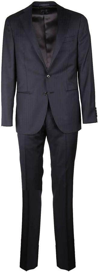 CarusoCaruso Stripe Suit