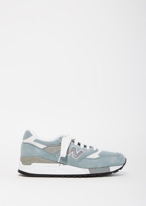 New Balance 998 Suede Mesh Sneakers $180 thestylecure.com