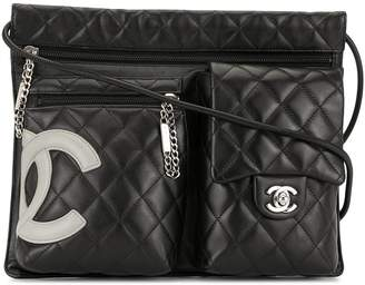 Chanel Pre-Owned Cambon Line multi-compartment shoulder bag