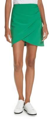 Alice + Olivia Fidela Draped Miniskirt