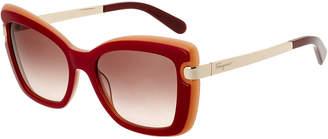 Salvatore Ferragamo Women's Sf814s 54Mm Sunglasses