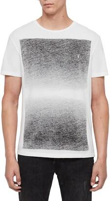 AllSaints Rufus Cotton Crewneck T-Shirt