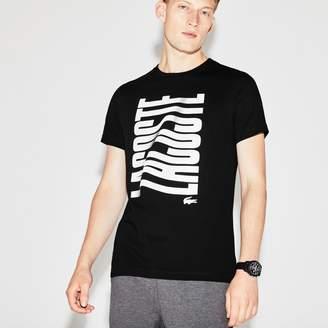 Lacoste Men's SPORT Tennis Print Tech Jersey T-shirt
